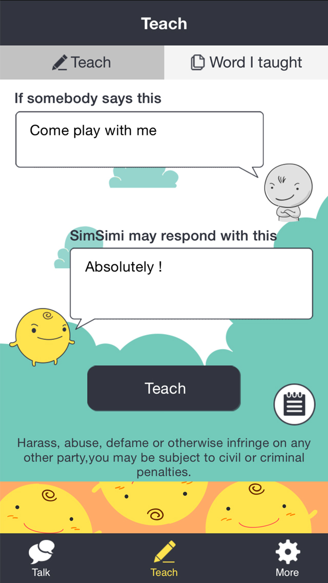 SimSimi   Apps   148Apps