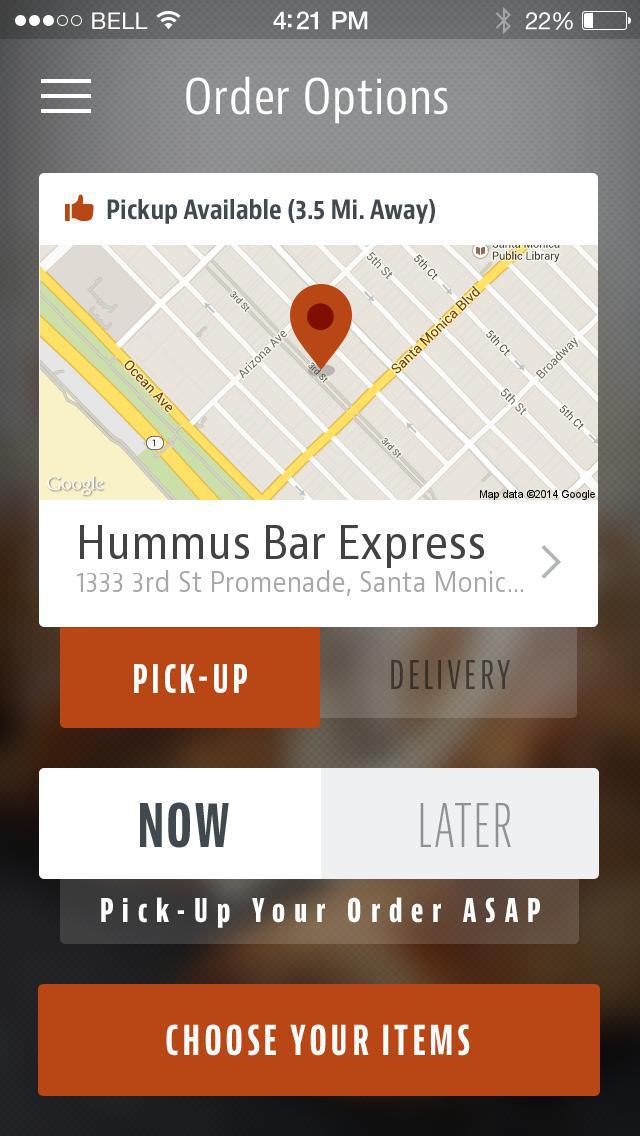 Hummus Bar Express screenshot 2
