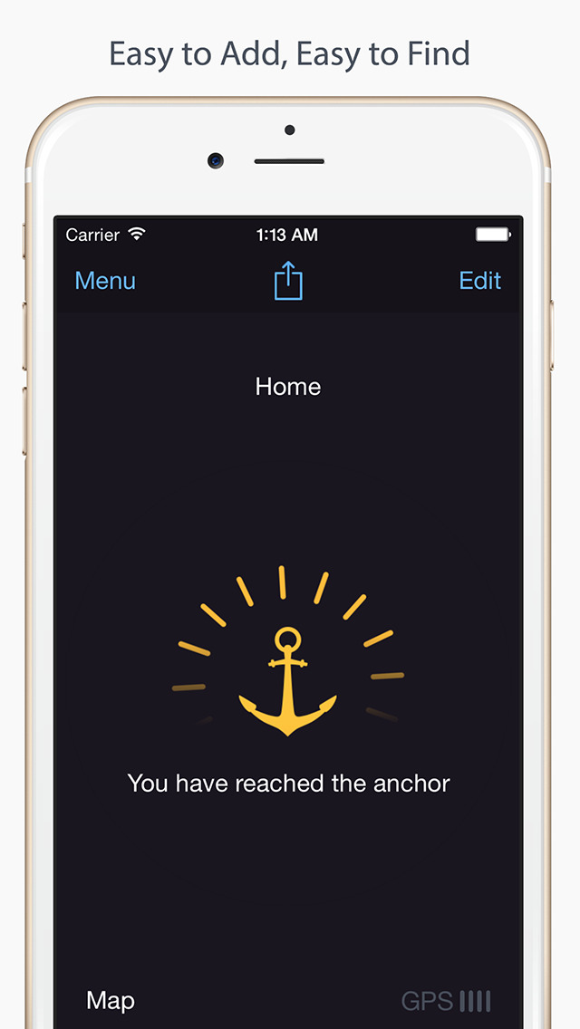 Anchor Pointer: GPS Compass (Find your parked car) screenshot 5