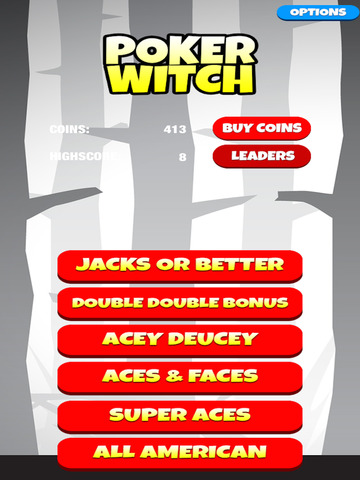 Video Poker Witch: Play, Bet, Win! Pro Edition screenshot 10