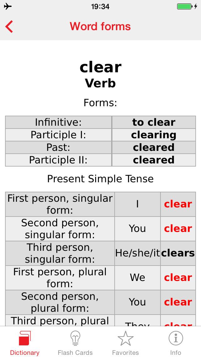 Polish - English Berlitz Basic Dictionary screenshot 5