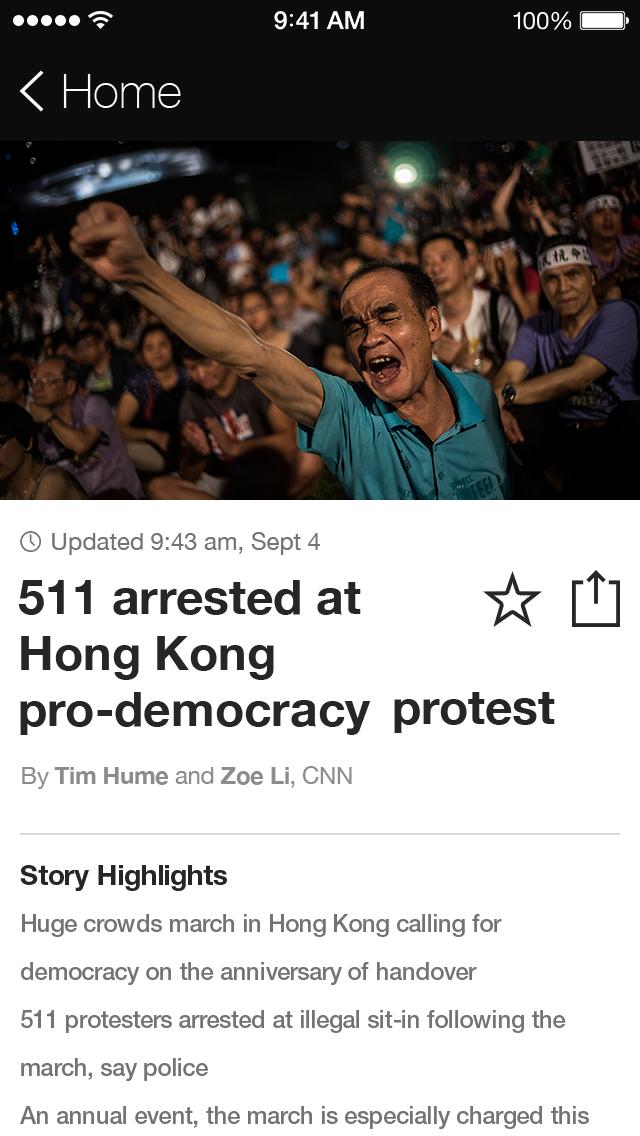 CNN: Breaking US & World News screenshot 3