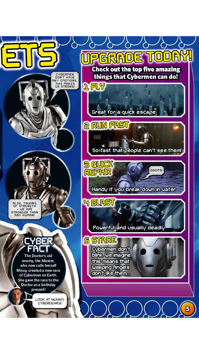 BBC Doctor Who Adventures magazine – for children who love everything about Doctor Who screenshot 5