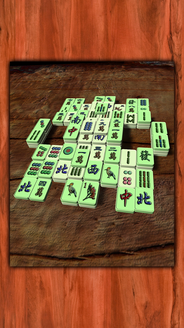Mahjong - Deluxe screenshot 1