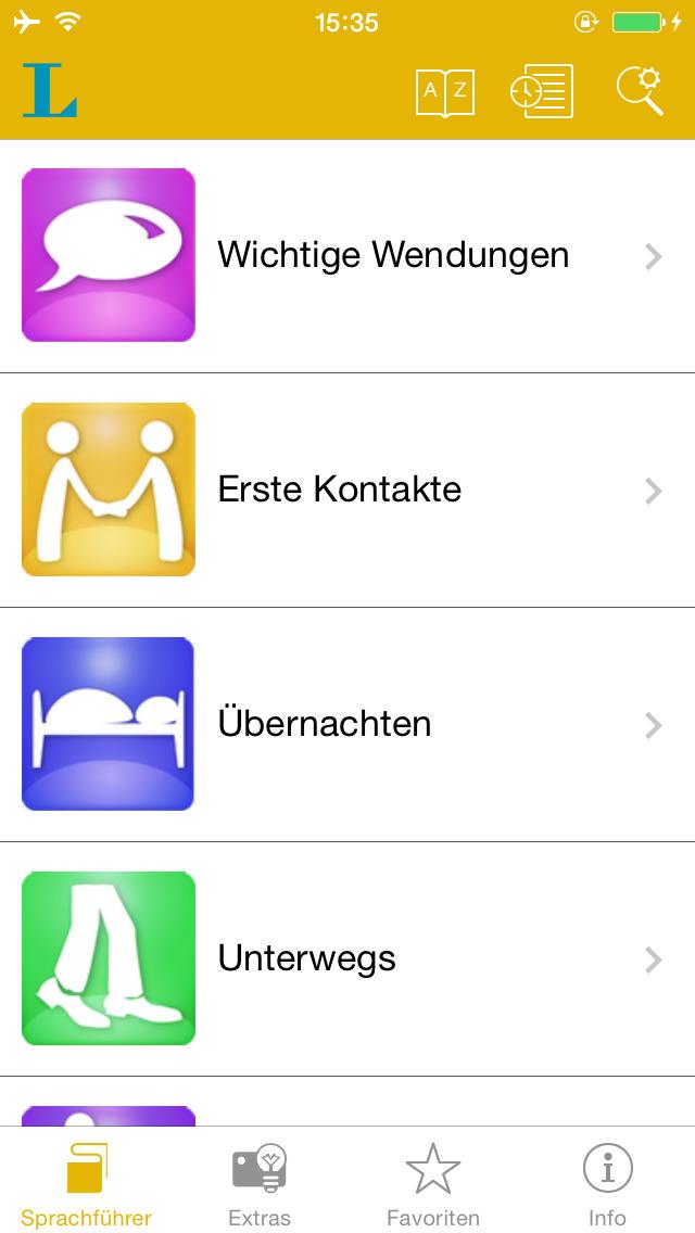 Spanisch talk&travel – Langenscheidt Sprachführ... screenshot 2