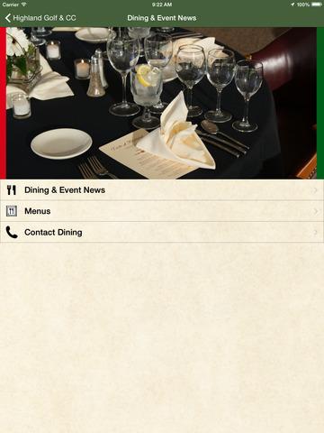 Highland Golf & Country Club screenshot 8
