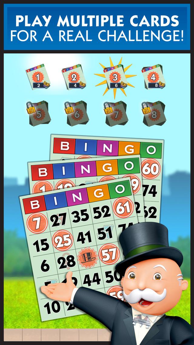 MONOPOLY Bingo! screenshot 1