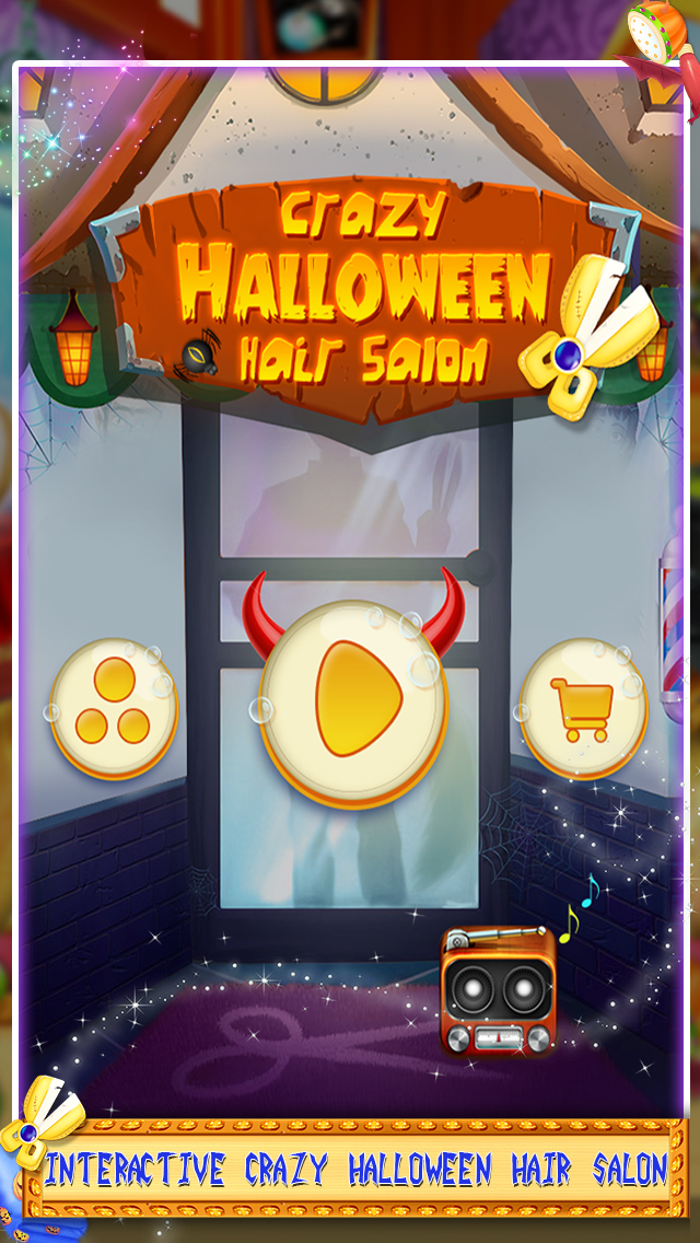 Crazy Halloween Hair Salon screenshot 3