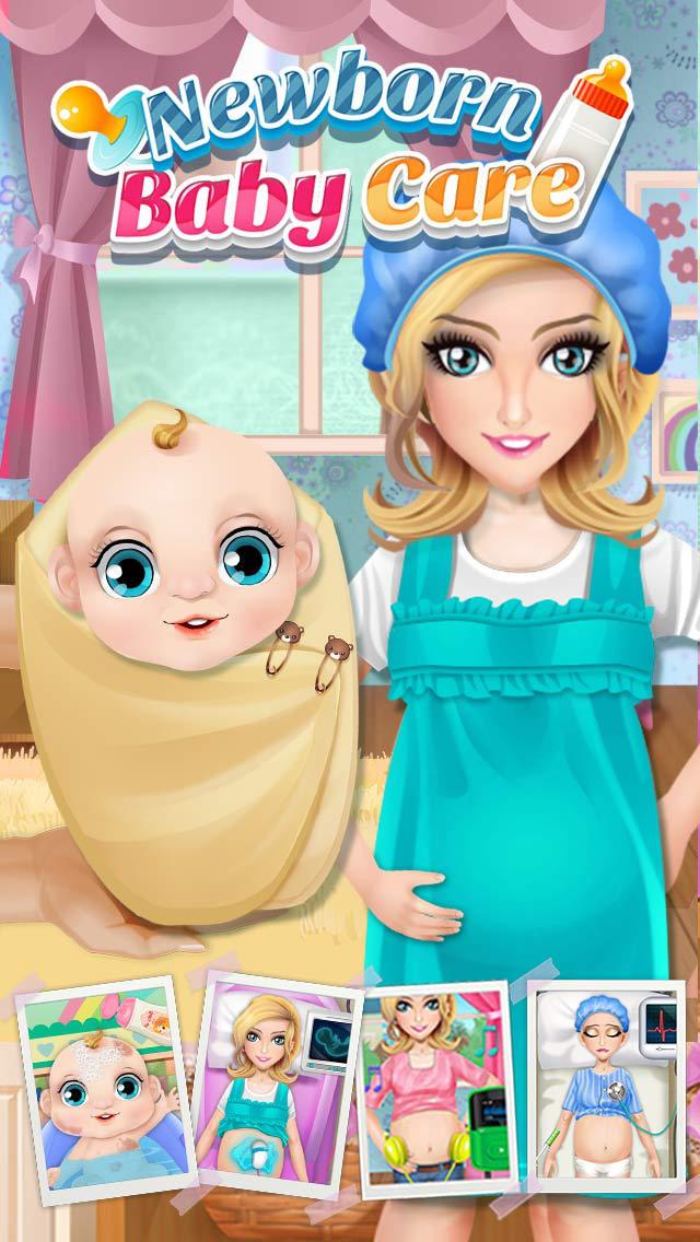 Newborn Baby Care - Mommy & Kids Game screenshot 2