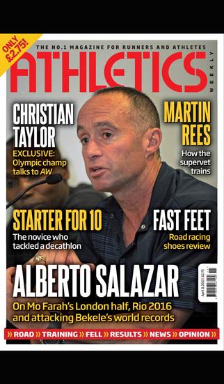 Athletics Weekly Magazine screenshot 2