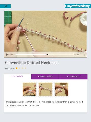 Wire Knitting Jewelry screenshot 8