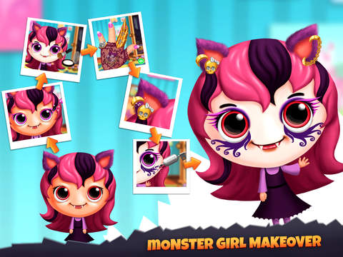 Closet Monsters - Create and Take Care of Your Baby Monster screenshot 8