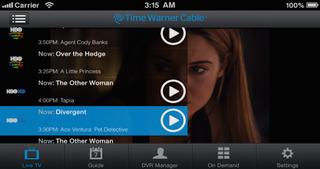 Spectrum TV screenshot 1