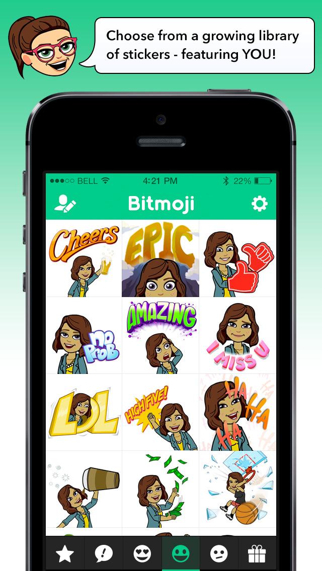 Bitmoji screenshot 2
