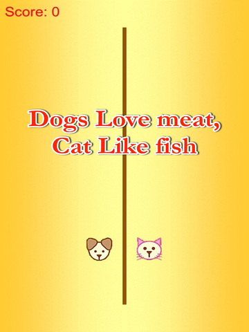 Cat Eat Fish - Dog Love Meat screenshot 4