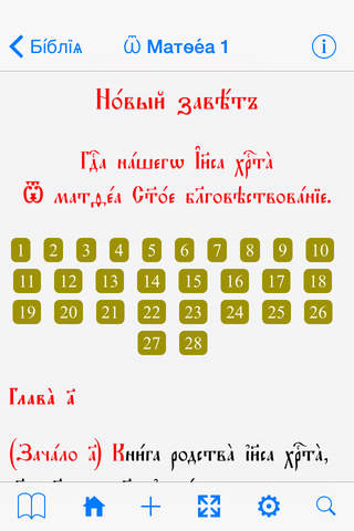 Church Slavonic Bible - náhled