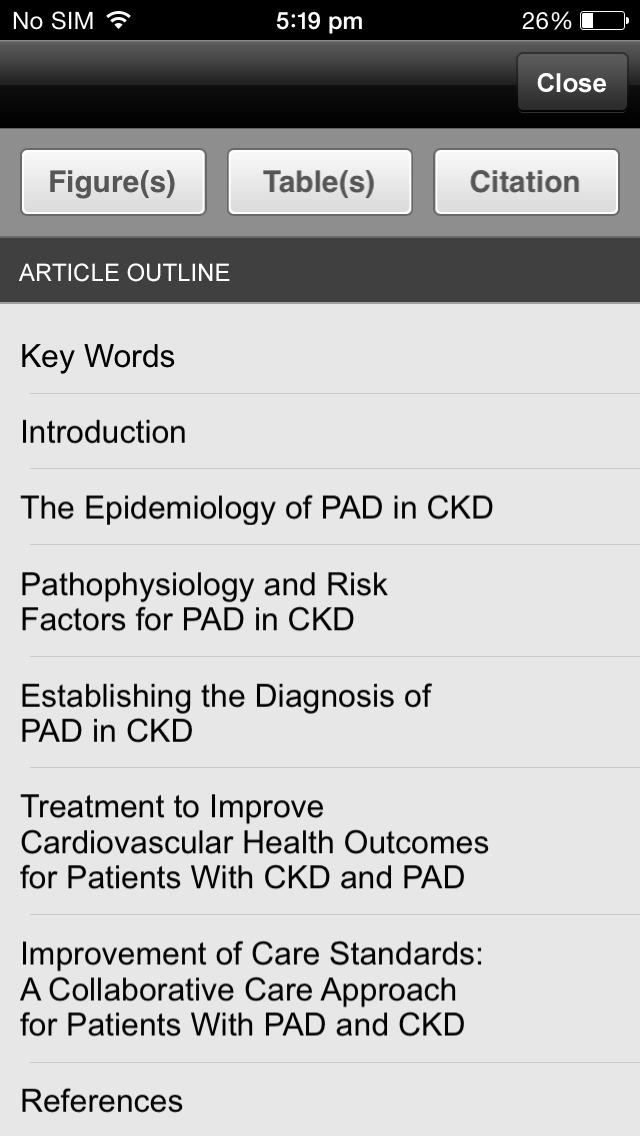 ACKD Journal screenshot 2