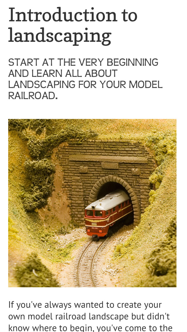 Landscape your Model Railroad screenshot 2