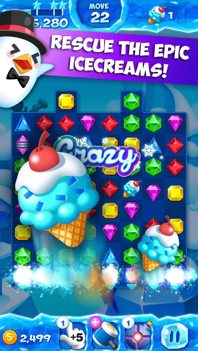 Jewel Pop Mania: Match3Puzzle! screenshot 2