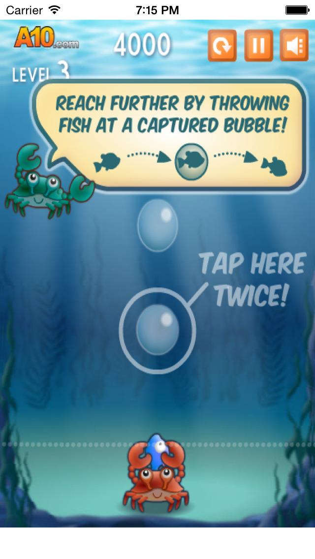 Bubble Fish Buddies Free ! screenshot 2