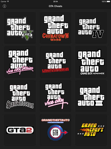 Cheats for GTA - for all Grand Theft Auto games | Apps | 148Apps