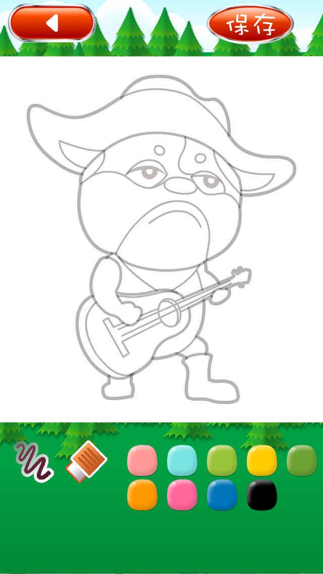 少儿动物简笔画 screenshot 2