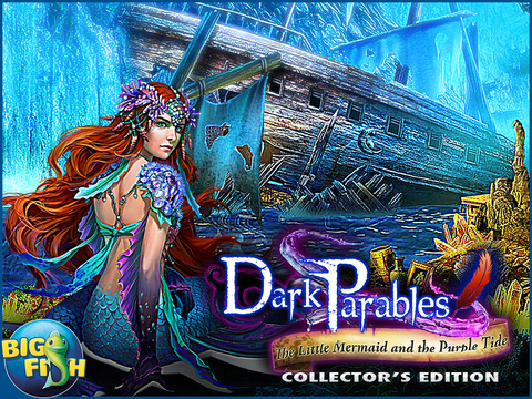 Dark Parables: The Little Mermaid and the Purple Tide HD - A Magical Hidden Objects Game (Full) screenshot 5