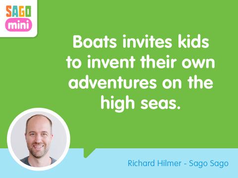 Sago Mini Boats screenshot 10