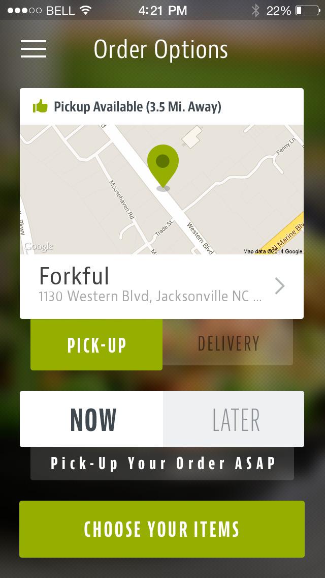 Forkful screenshot 2