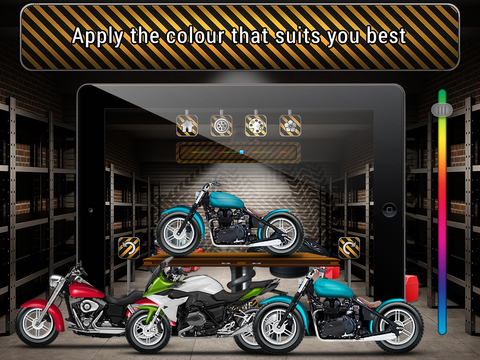 Motorcycle Factory screenshot 8