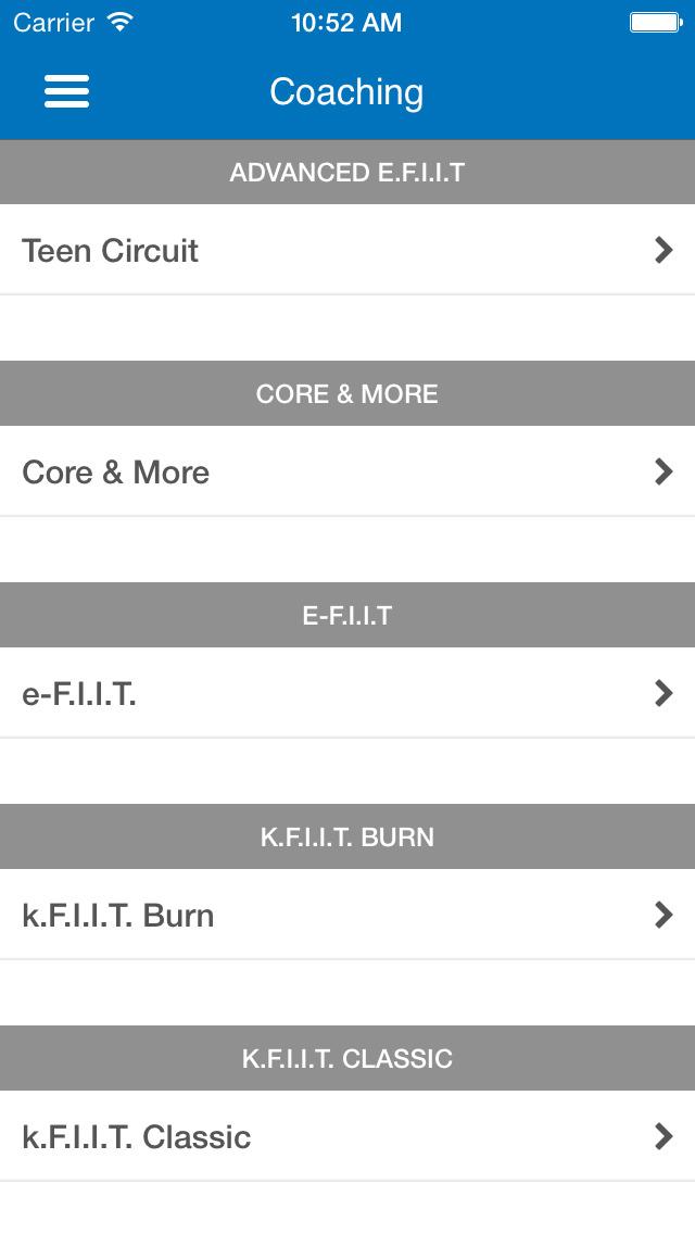 Elite Fitness Plus screenshot #3