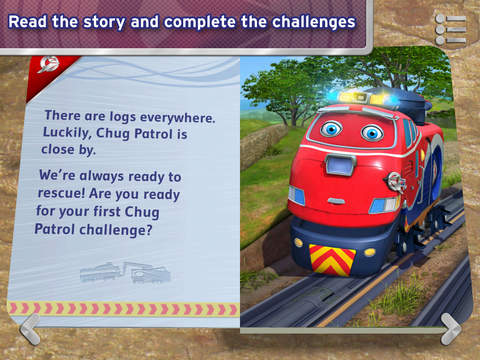 Chug Patrol: Ready to Rescue ~ Chuggington Book screenshot 8
