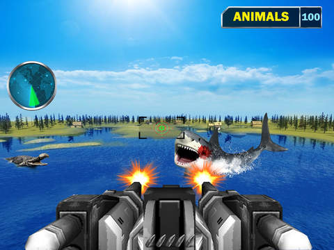 Sea Monster Shooting Strike 3D screenshot 7