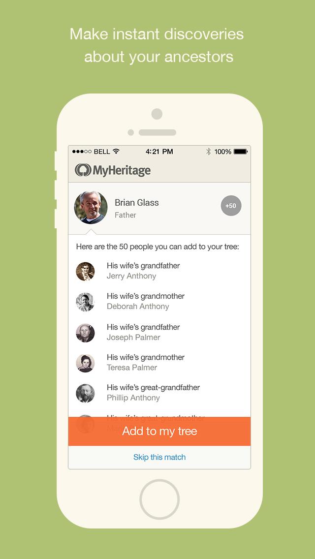 MyHeritage - Family tree screenshot 5