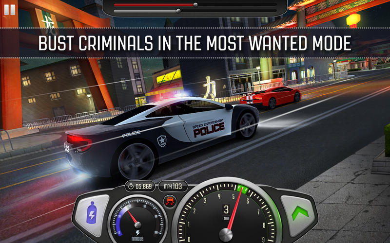 Top Speed: Drag & Fast Racing screenshot 2