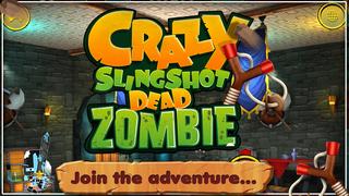 Crazy Slingshot Dead Zombie screenshot 3