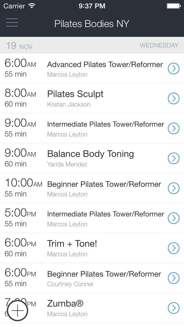 Pilates Bodies NY screenshot 1