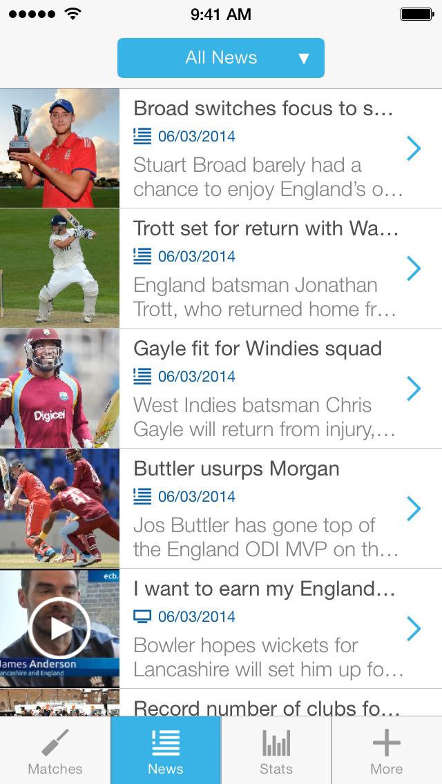 ECB Cricket screenshot #3