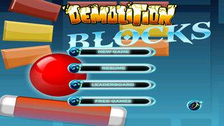 Blocks Demolition - Retro Classic Arcade Game screenshot 1