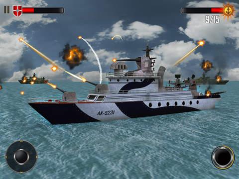 Sea Battleship Combat 3D screenshot 7