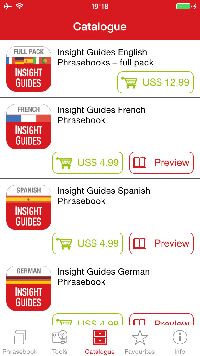 Insight Guides English Phrasebooks screenshot 1