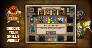 Legendary Team – the action role playing game for epic heroes screenshot 3