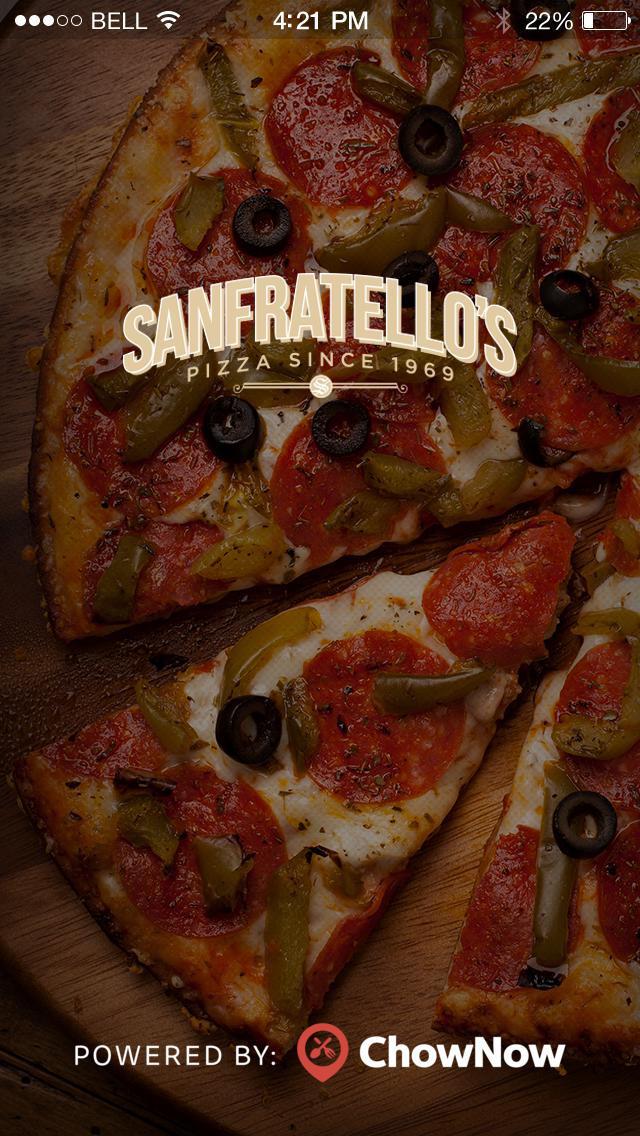 Sanfratello's Pizza screenshot 1