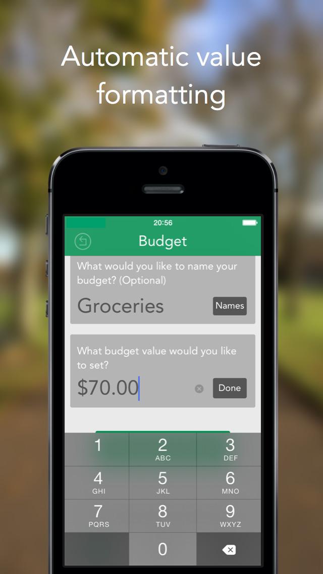 AffordIt - Budget Tracker screenshot 4