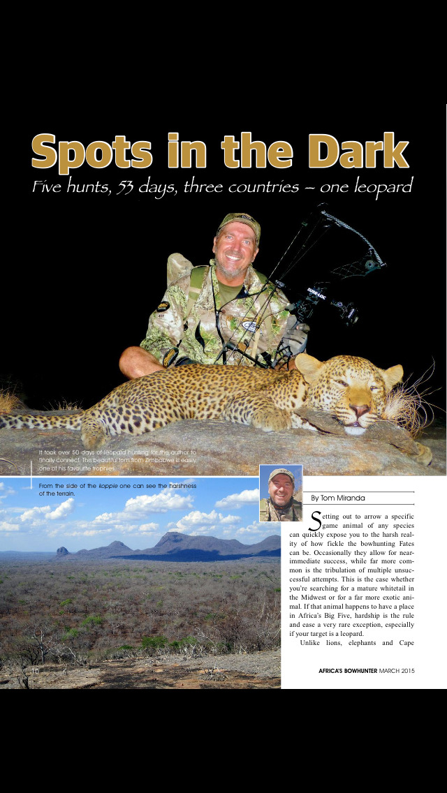 Africa's Bowhunter Magazine screenshot 4