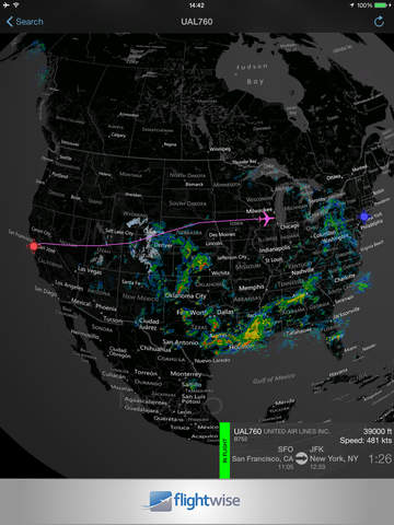Flightwise Flight Tracker Free screenshot 6