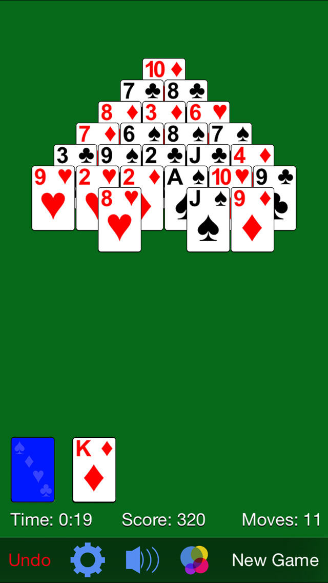Pyramid Solitaire· screenshot 3