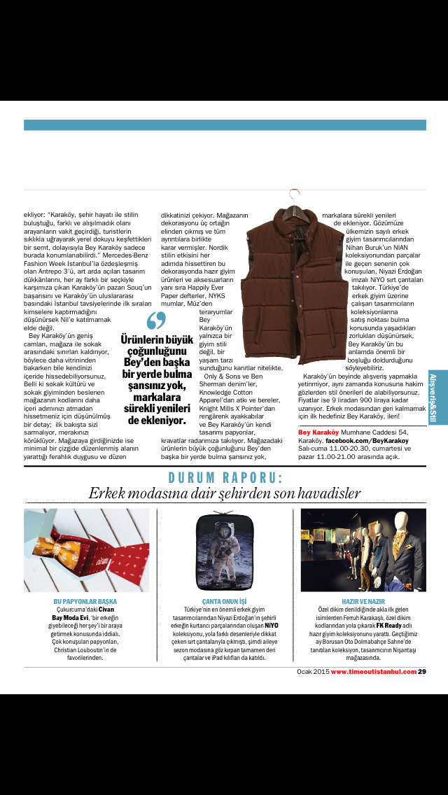 Time Out Istanbul Magazine screenshot 5