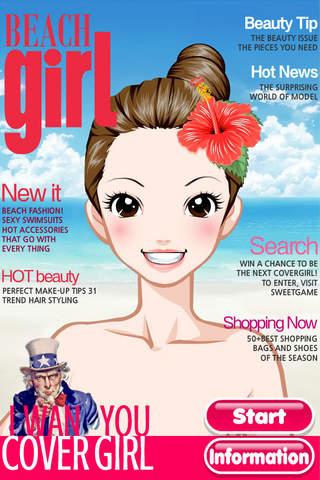 Beach Girl Free Make Up & Dress Up - náhled