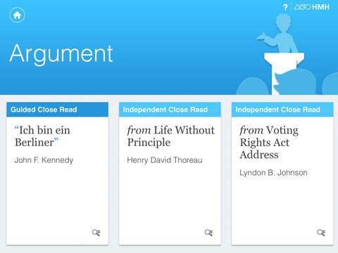 HMH Close Reads: Grades 9–10 screenshot 2